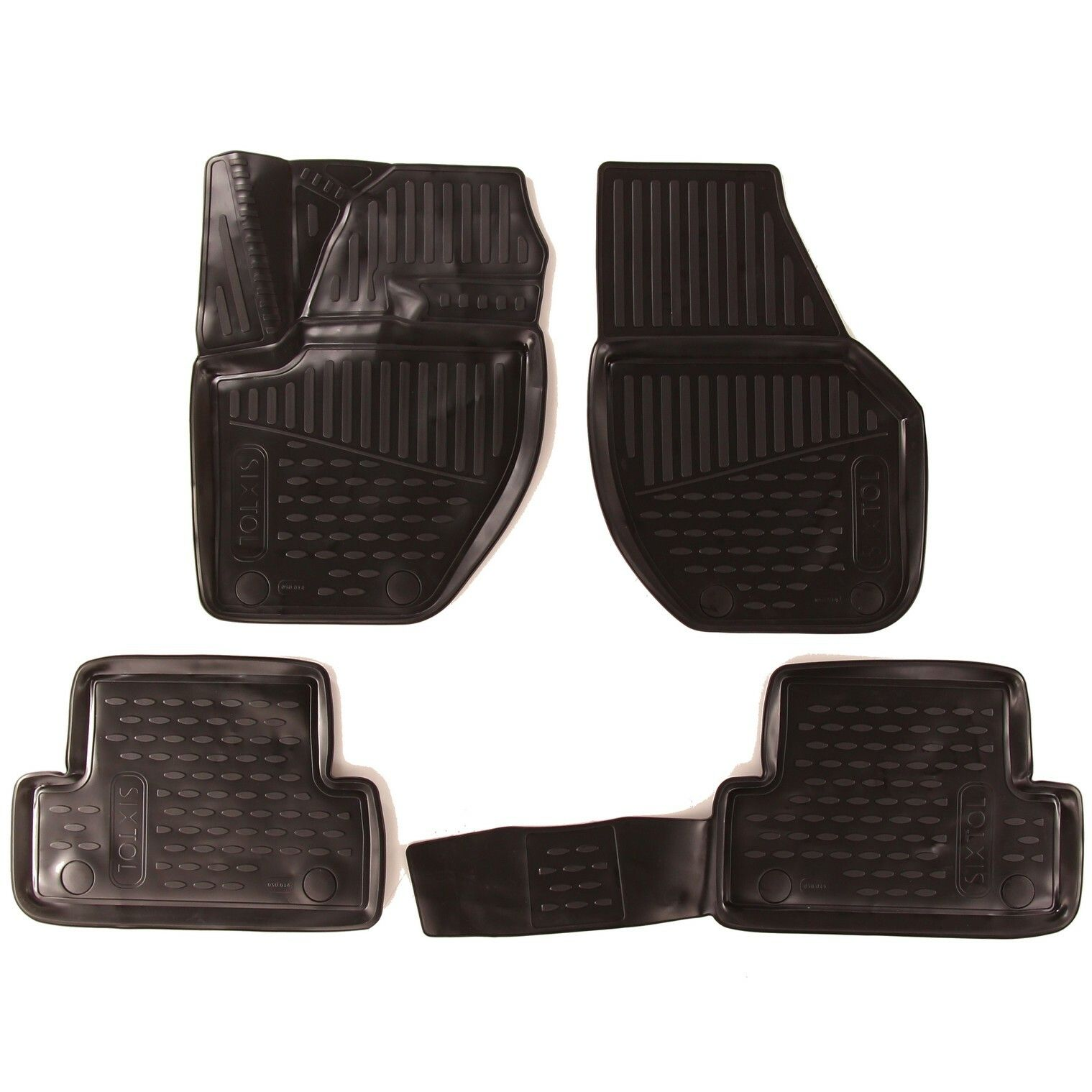 3D Gumové koberce VOLVO V40, 2016->, Hatchback, Facelifted, (Evropa) SIXTOL