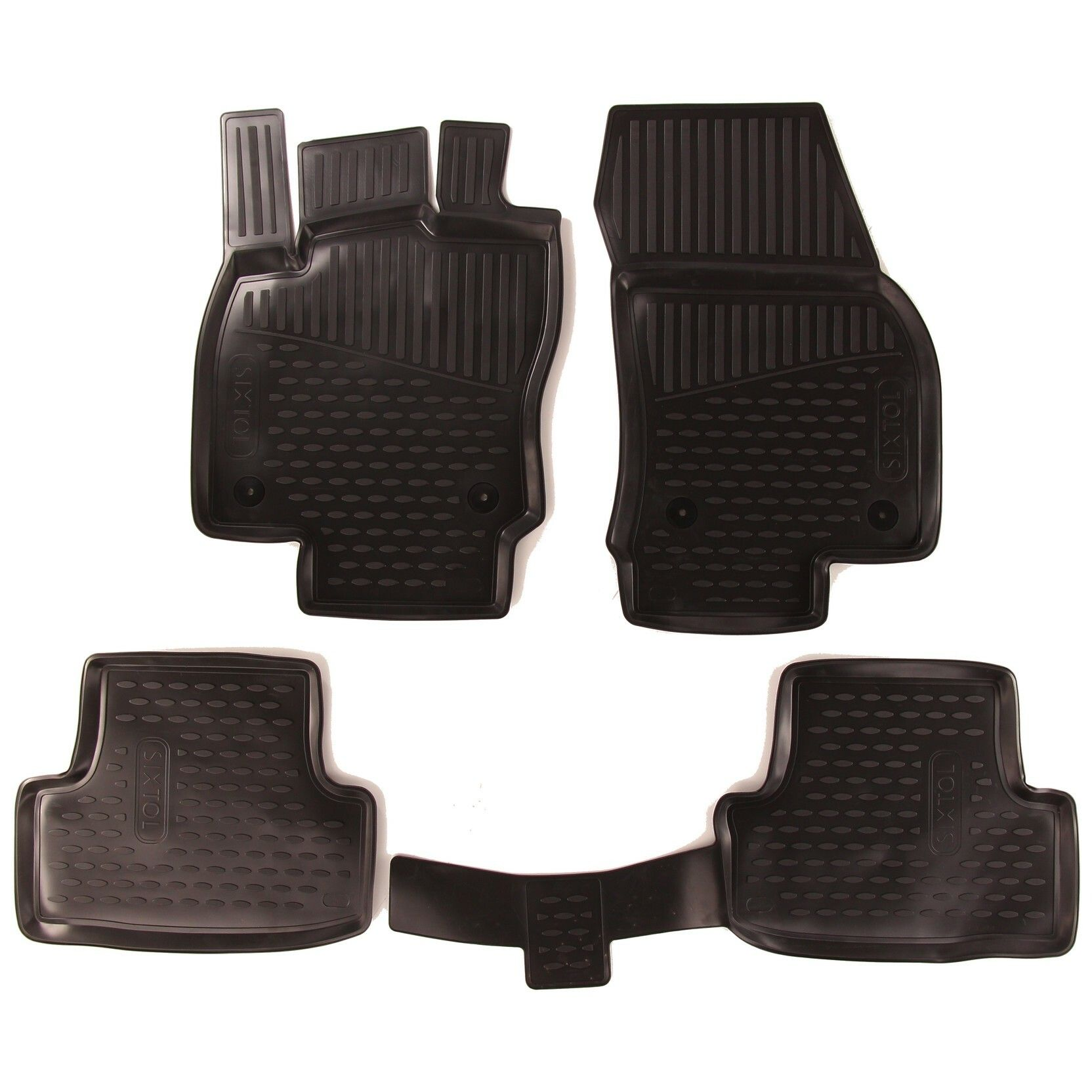 Gumové koberce SEAT Ateca, 2016->, Compact SUV, Evropa SIXTOL