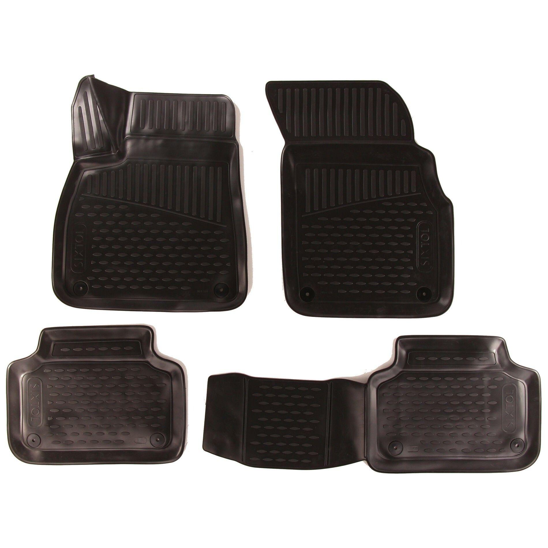 3D Gumové koberce AUDI Q7 ||, 2015->, SUV SIXTOL