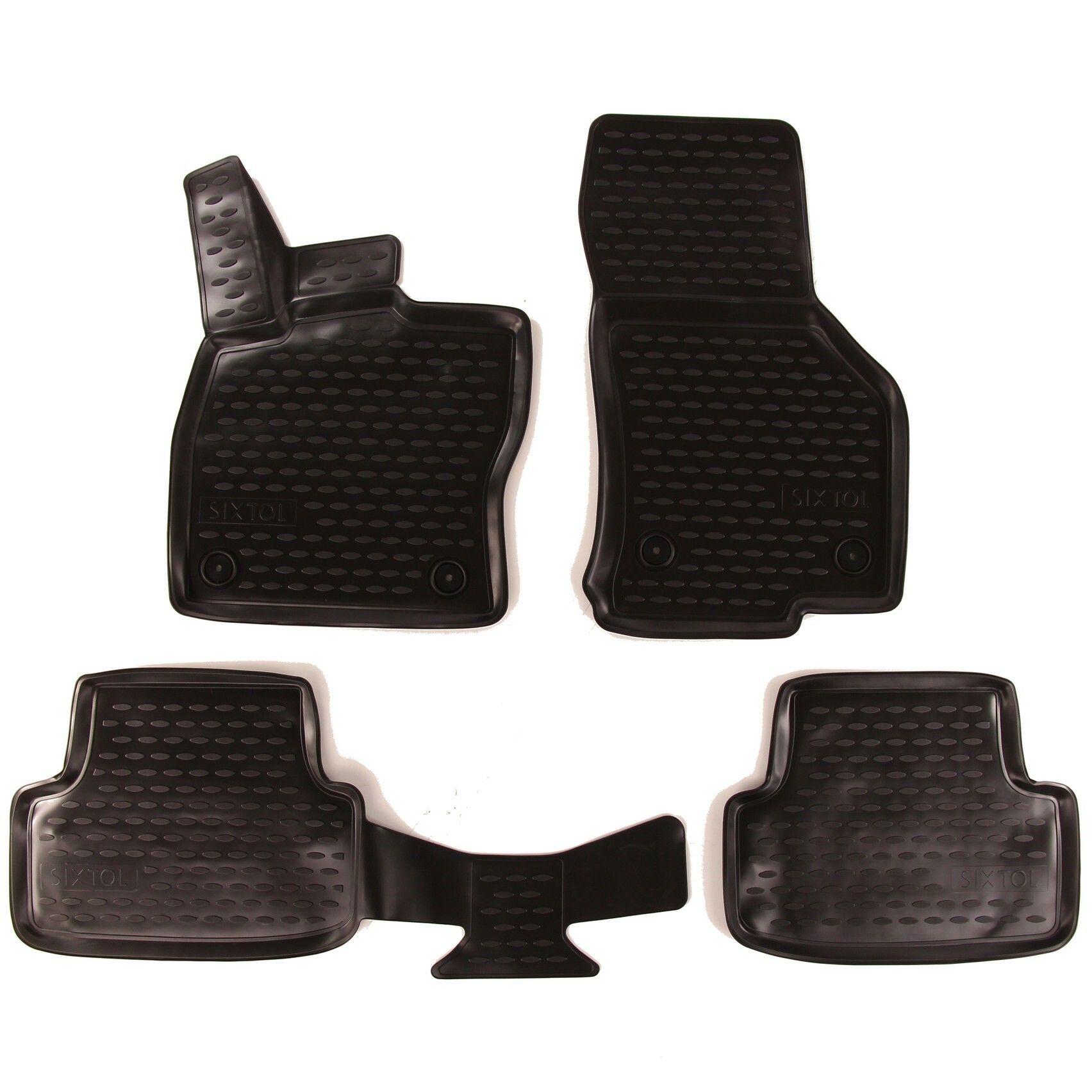 3D Gumové koberce SEAT Leon, 2012->, Typ 5F SIXTOL