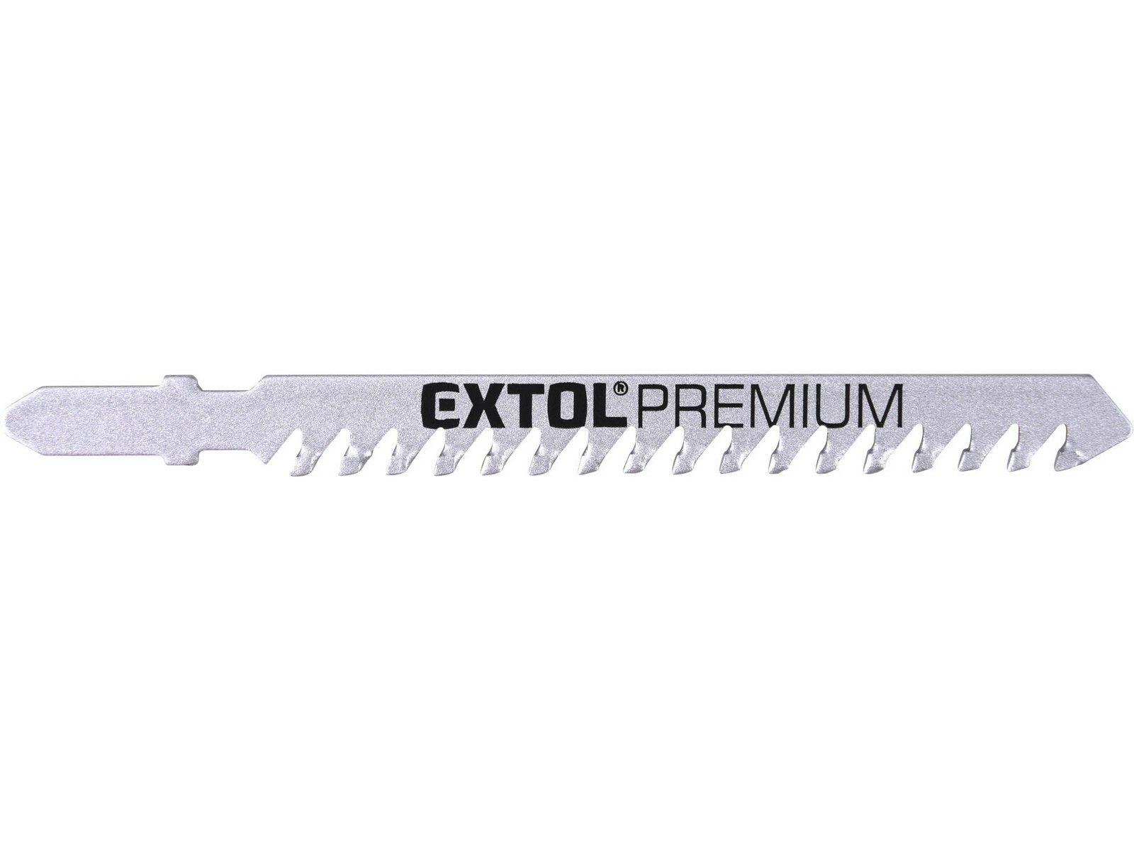 Plátky do přímočaré pily s SK zuby 3ks EXTOL PREMIUM