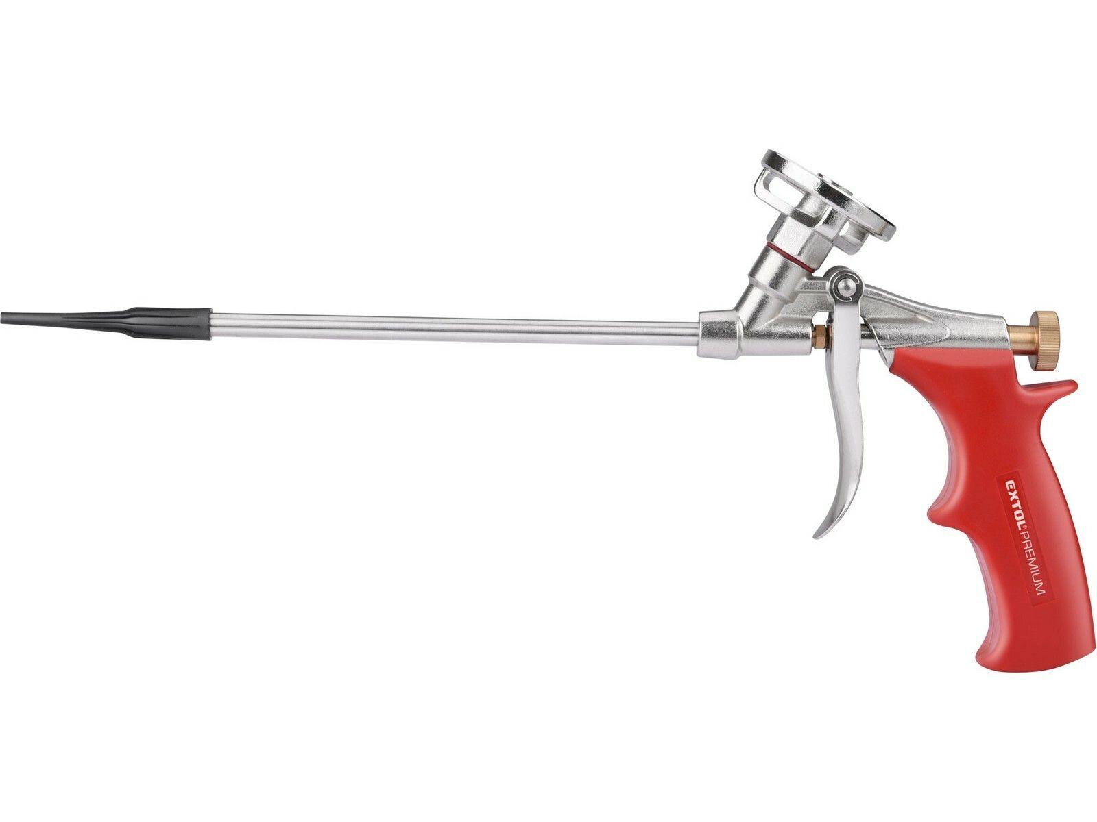 Pistole na PU pěnu s 8mm úzkou trubicí EXTOL-PREMIUM