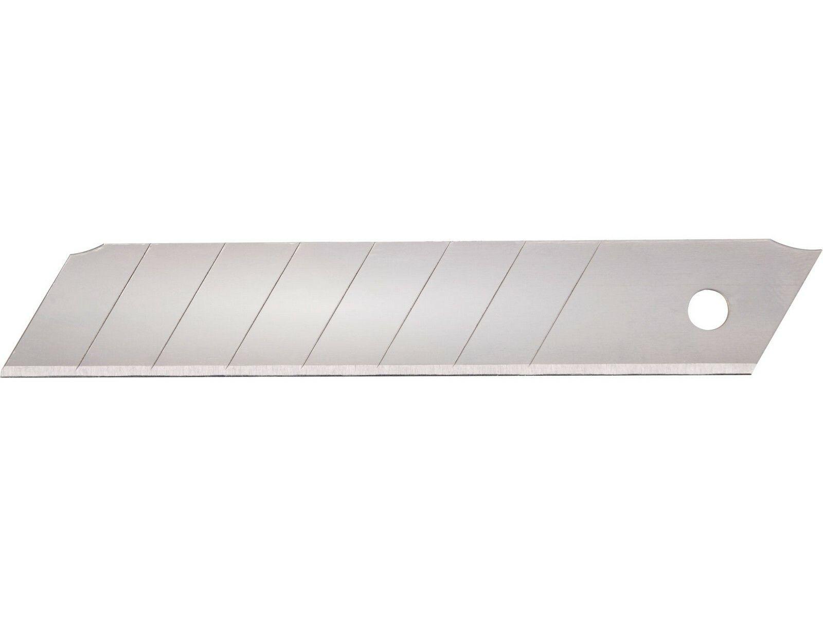 Břity ulamovací do nože, 18mm, 10ks, SK4 EXTOL PREMIUM