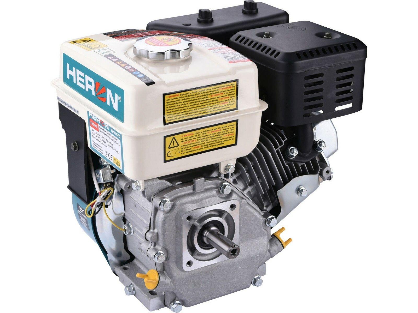 Motor samostatný, 163ccm, 5,5HP HERON