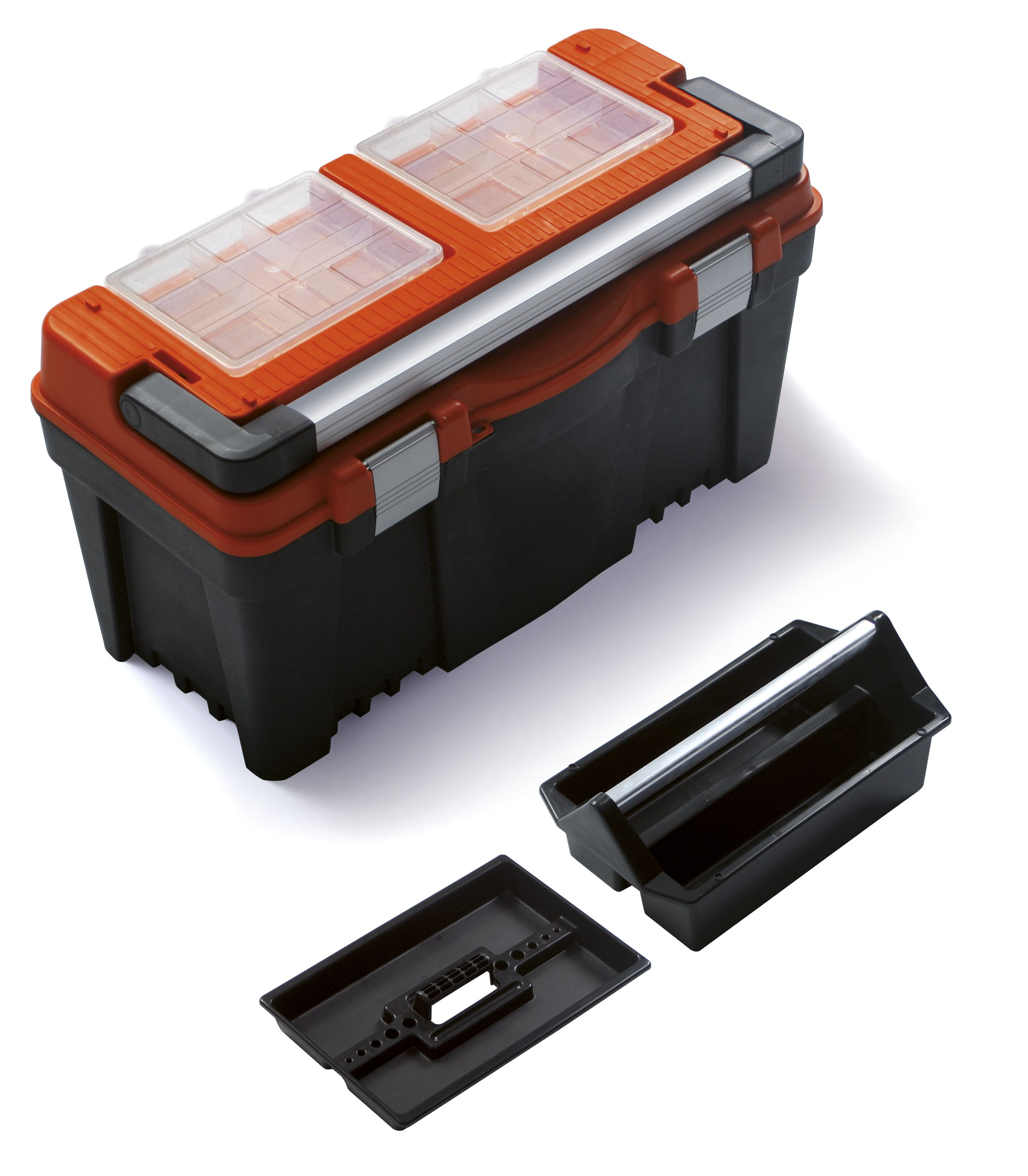 """Plastový box na nářadí 23,5"""", nosnost 27 kg, FIREBIRD SIXTOL"""