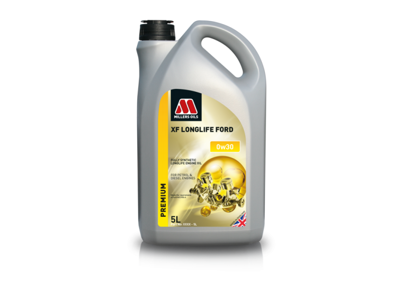 Millers Premium XF Longlife Ford 0w30 5l MILLER OILS