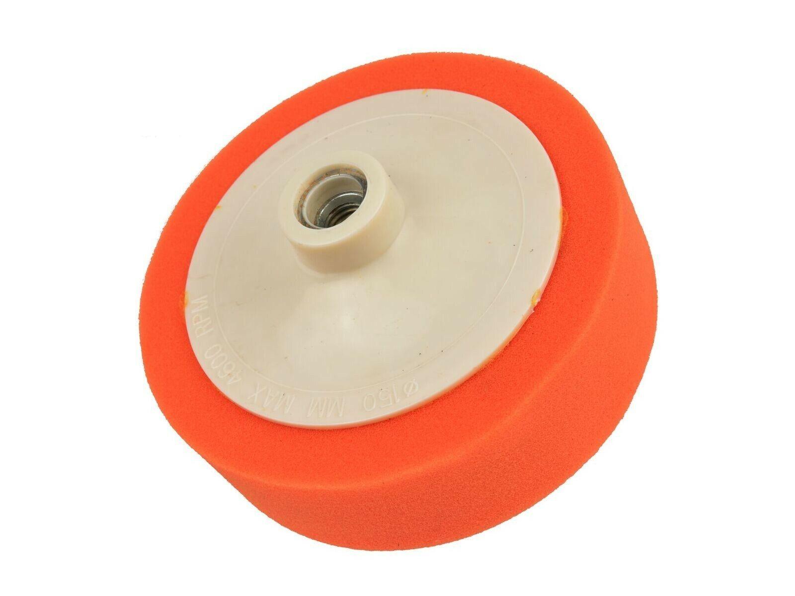 Houba leštící oranžová, 150x45 mm, M14, GEKO G00326