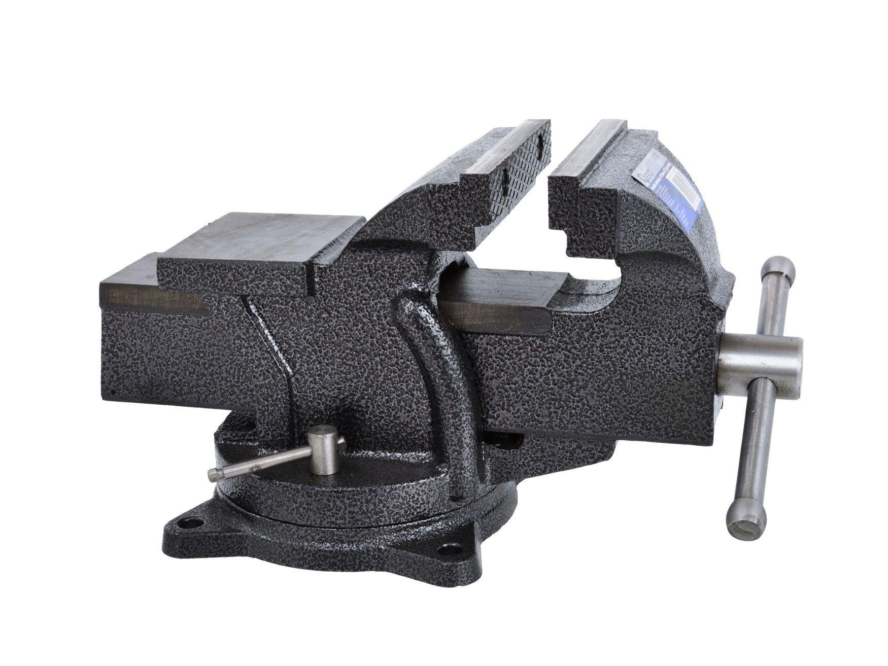 Svěrák stolní otočný, 125 mm, GEKO