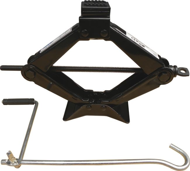 Hever nůžkový 1500 kg, gumový vršek, GEKO