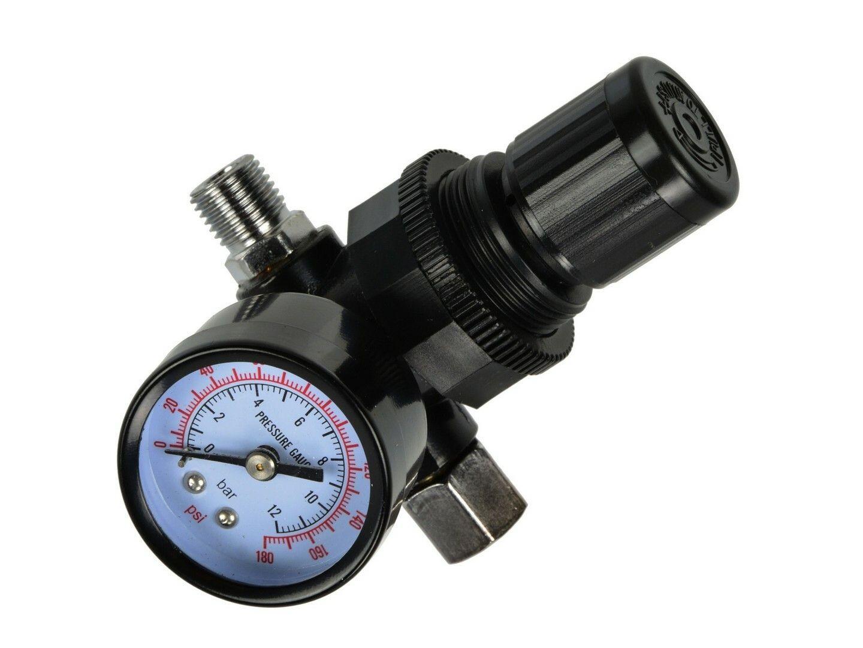 "Regulátor tlaku 1/4"", 0-8 bar GEKO"
