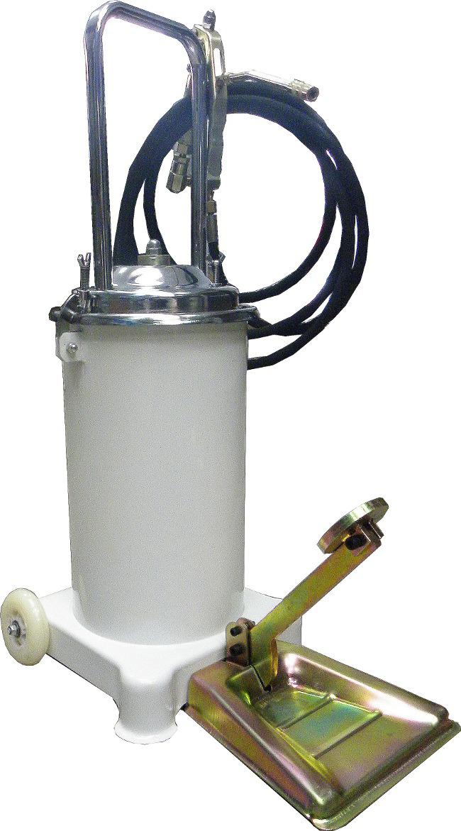 Vzduchové čerpadlo na maziva, kapacita 15l, hadice 4m, GEKO
