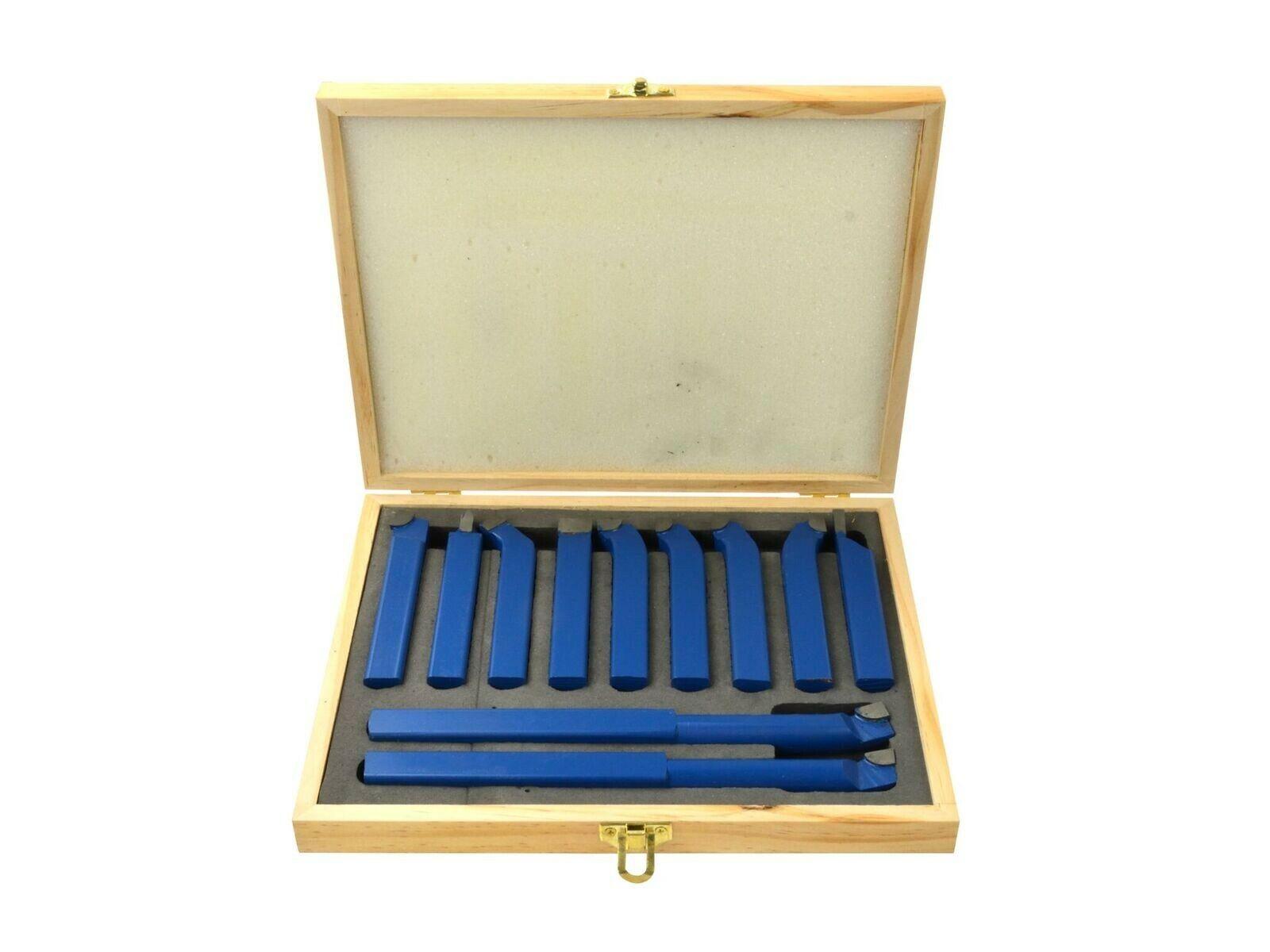 GEKO G01243 Nože soustružnické 11ks, 16x16 mm