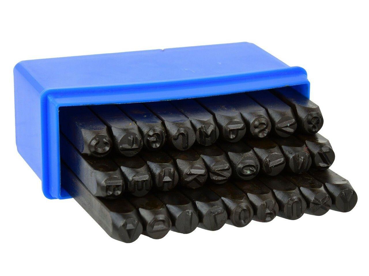 Razidla písmenková 6 mm, 27 ks - bez krabičky GEKO