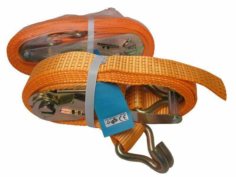 GEKO G02372 Popruh upínací s ERGO ráčnou a hákem, 2m/2T/40mm