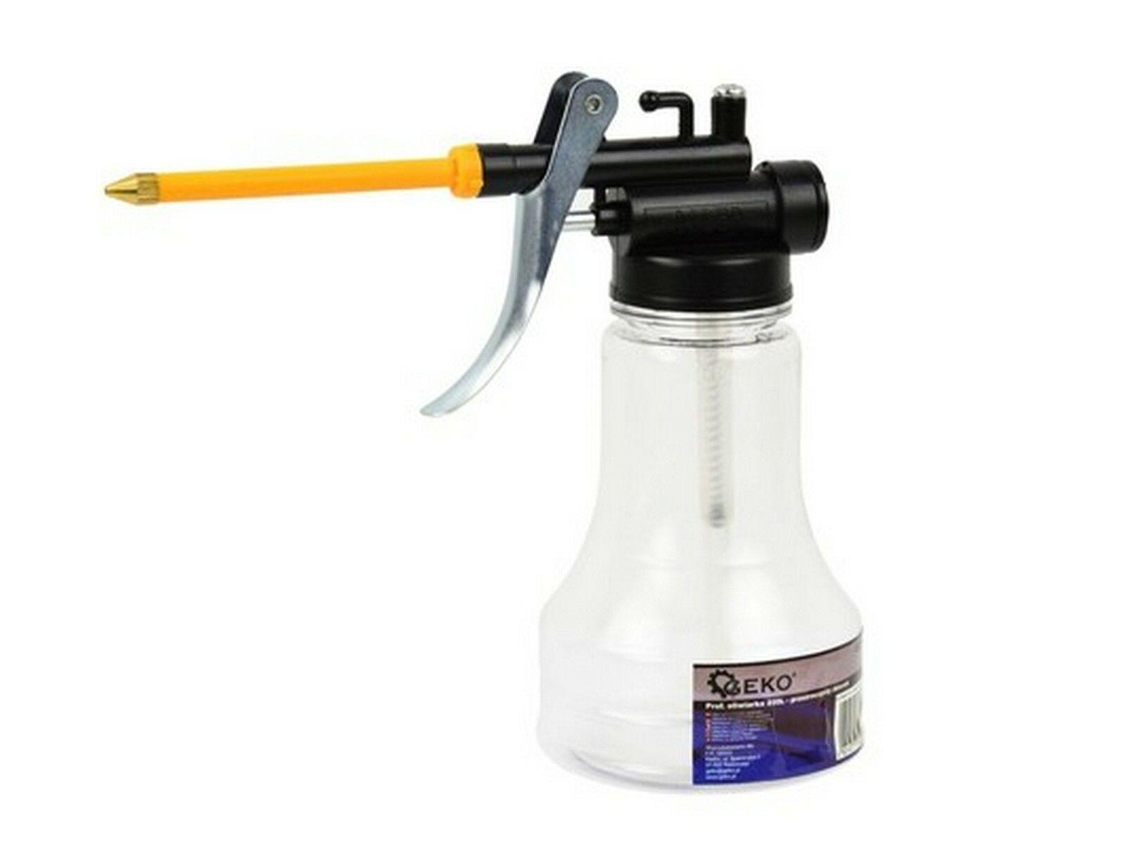 Olejnička s flexibilním hrdlem transparentní, 250 ml, GEKO