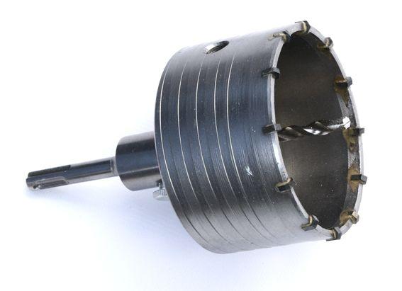 Vrták vykružovací 100mm SDS Plus, GEKO