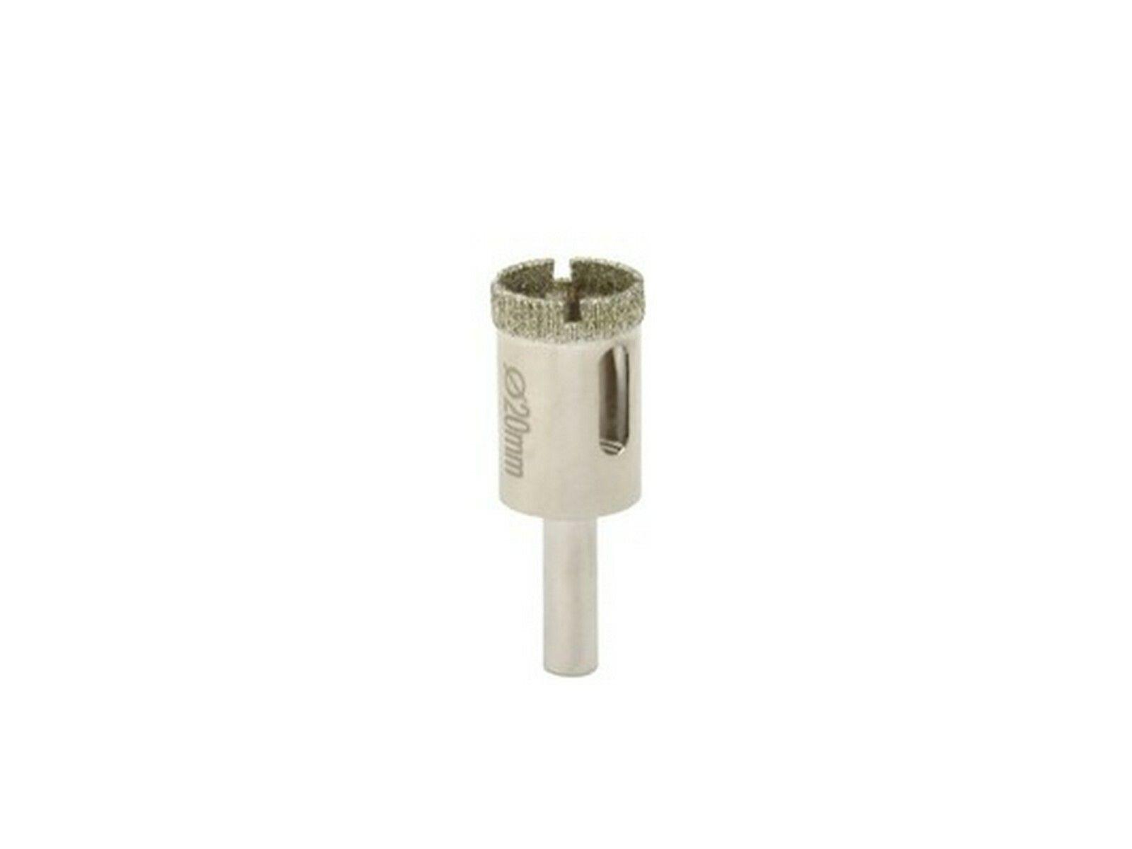 Vrták diamantový korunkový, 20 mm, GEKO