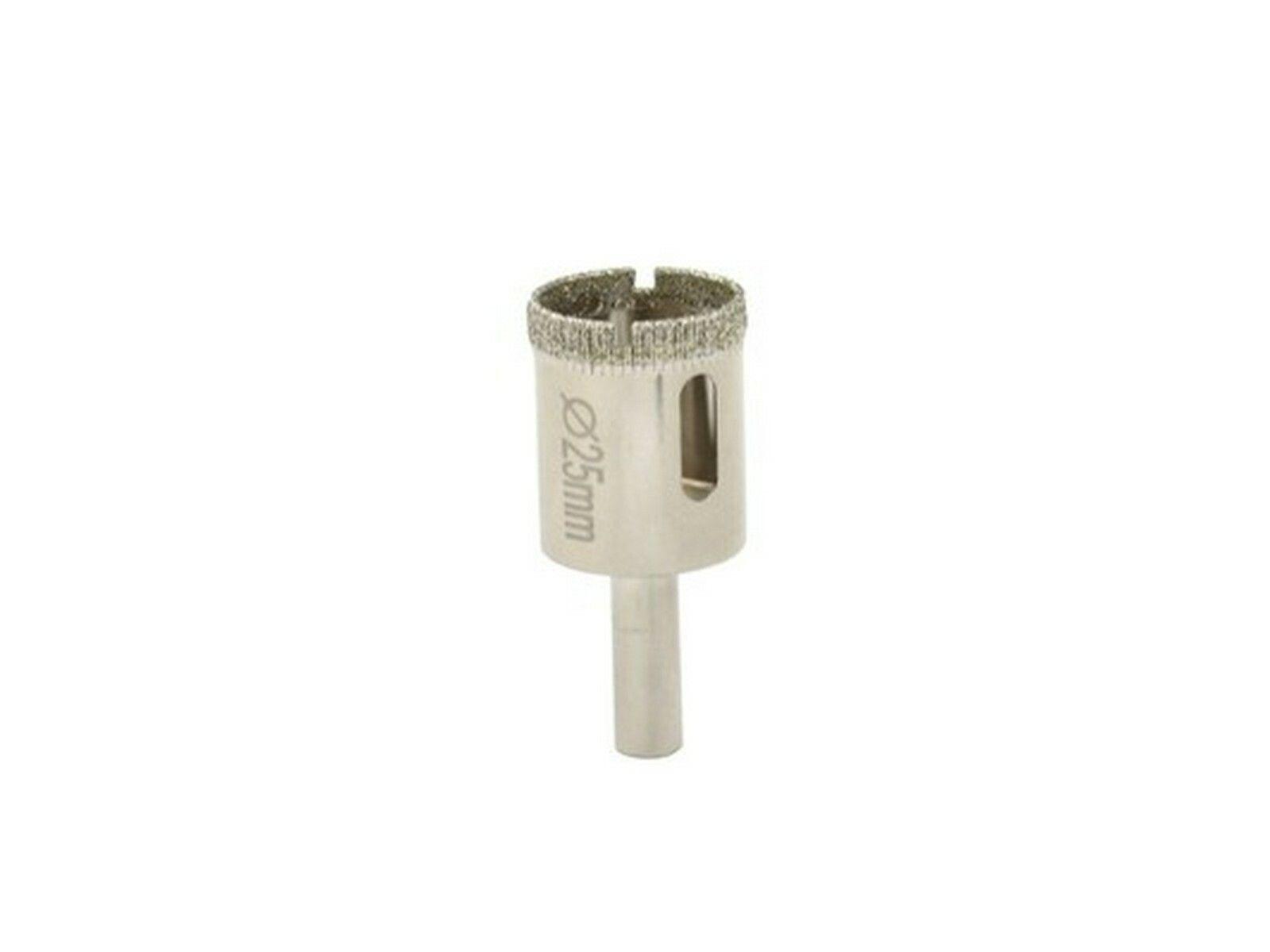 Vrták diamantový korunkový, 25 mm, GEKO