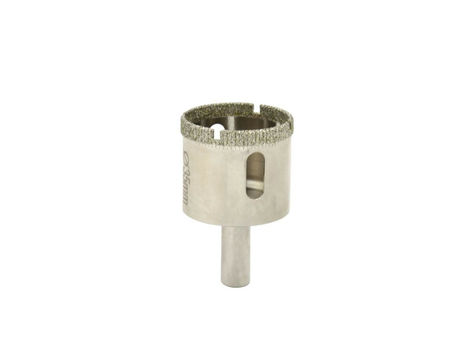 Vrták diamantový korunkový, 35 mm, GEKO
