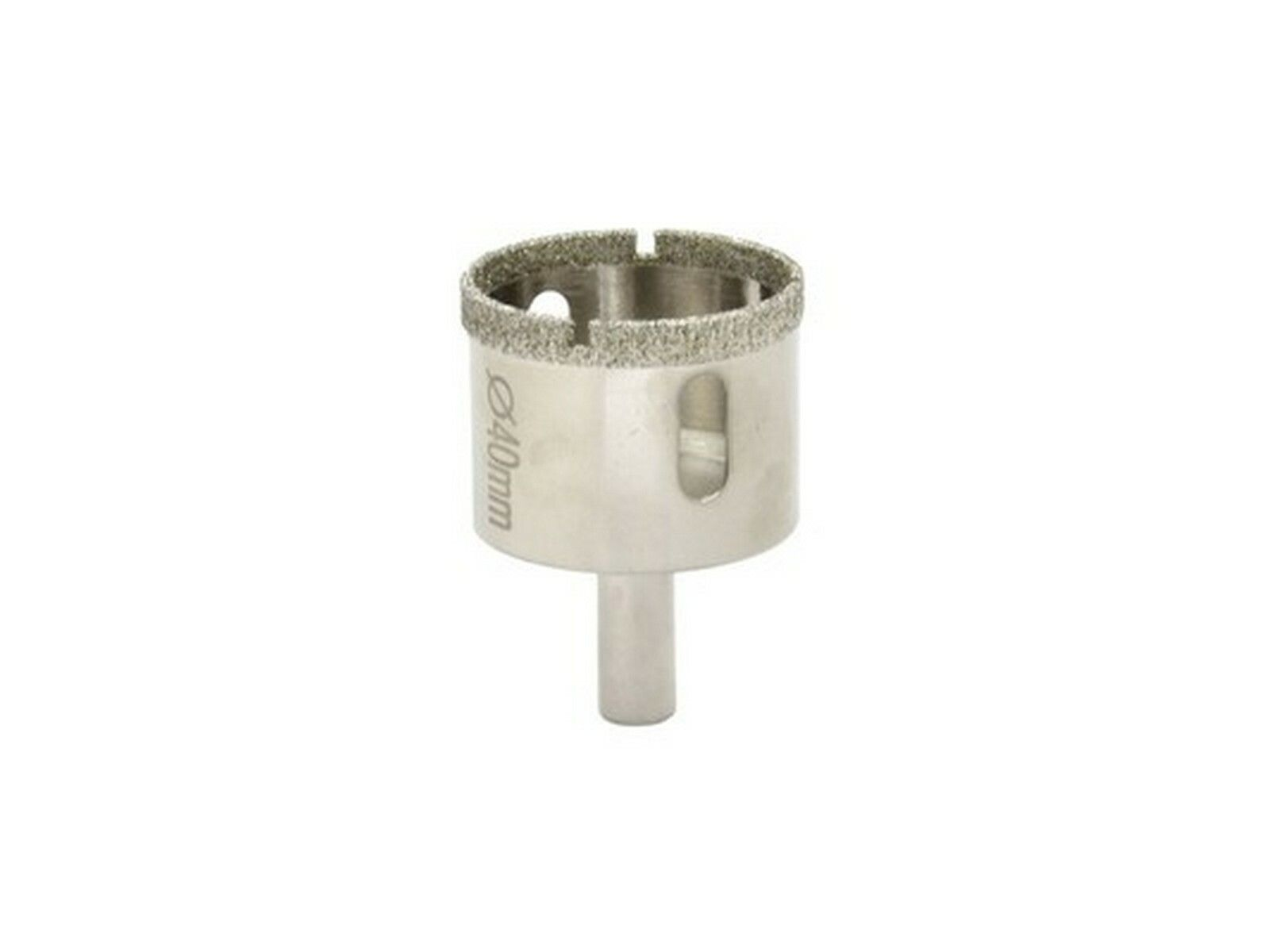 Vrták diamantový korunkový, 40 mm, GEKO