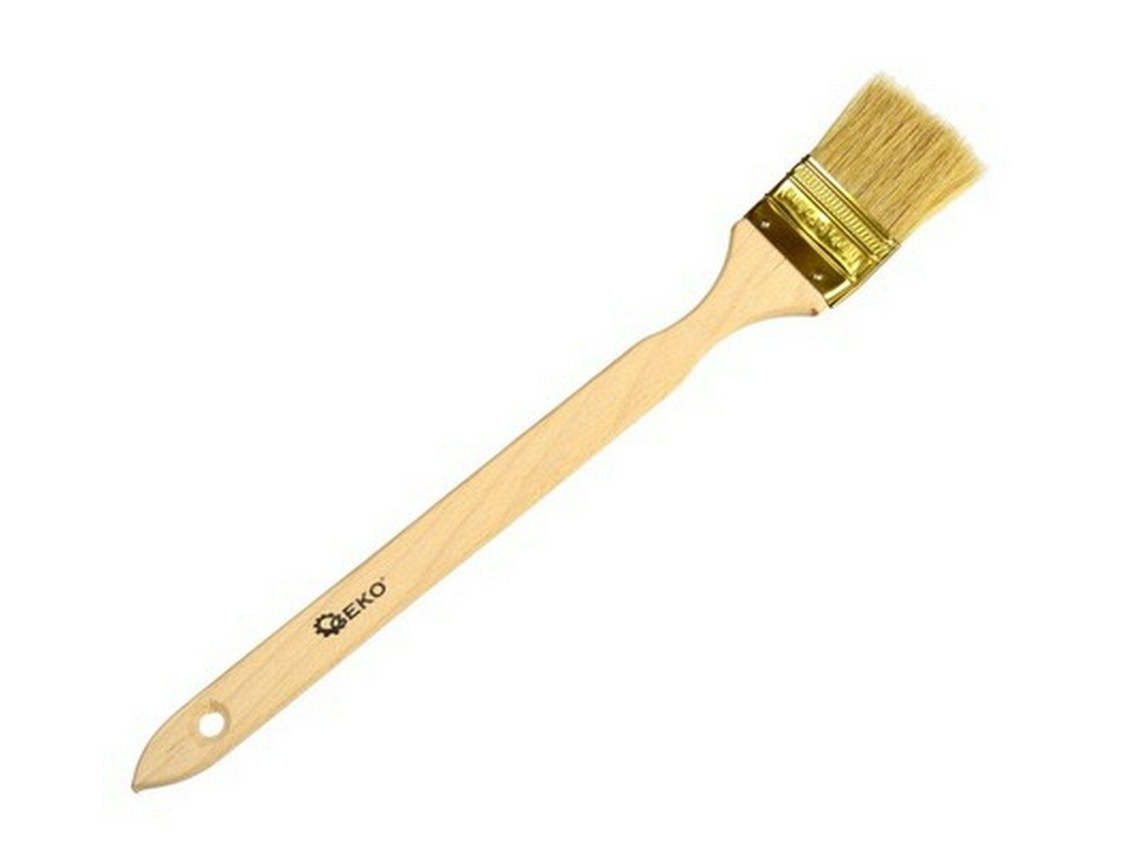 Štetec šikmý, 50 mm, dřevěná rukojeť, GEKO G66016