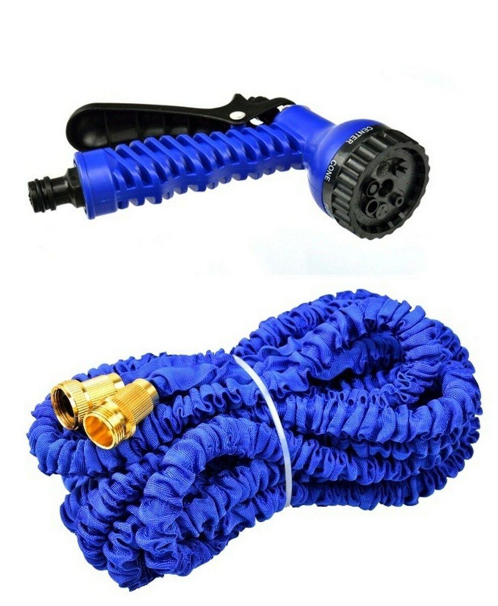 Zahradní hadice smršťovací, 10m-30m, 7 funkcí, dvojitý pletenec, GEKO