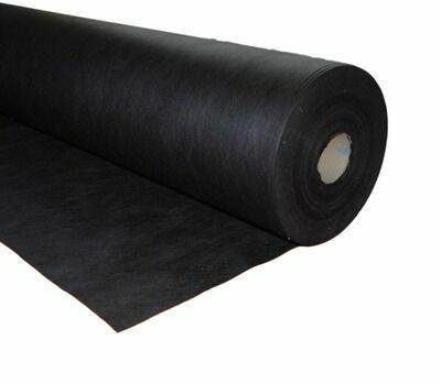 Netkaná agrotextilie proti plevelu 1,60x100m, černá, UV filtr, GEKO