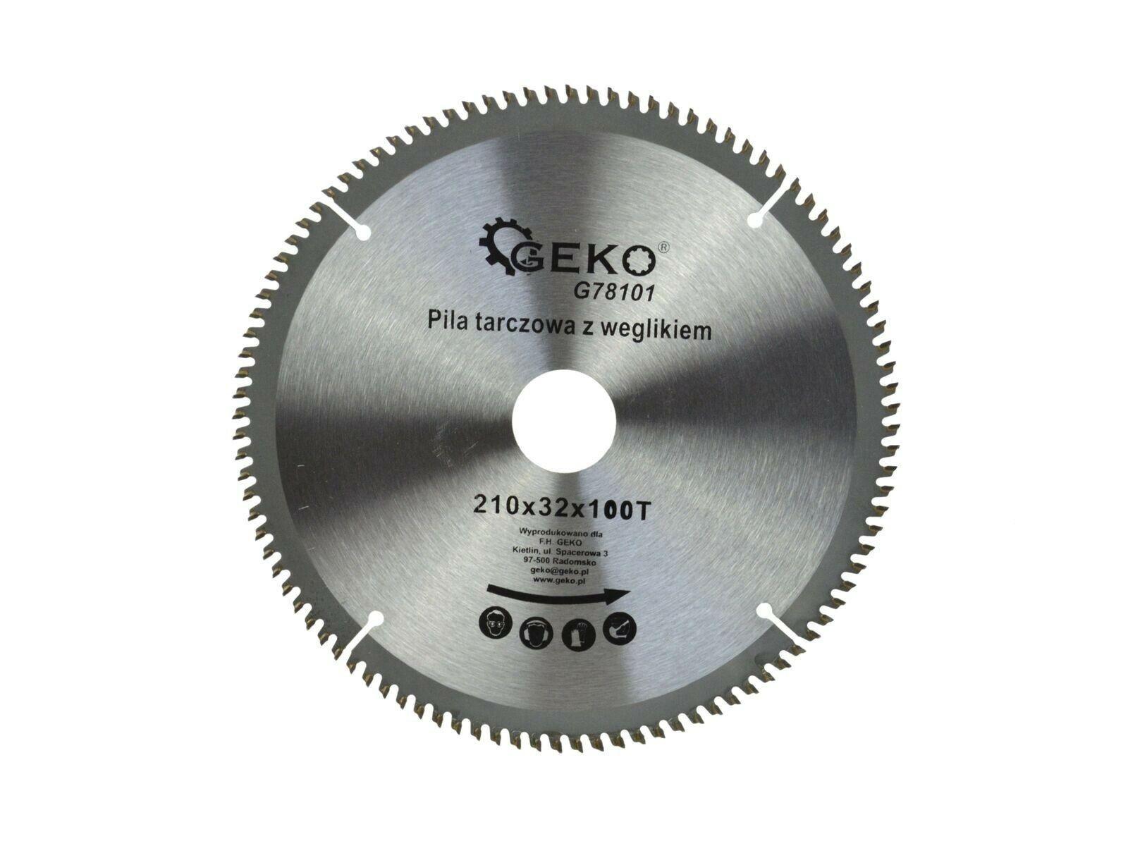 Kotouč řezný na hliník, 210x32 mm 100T, GEKO