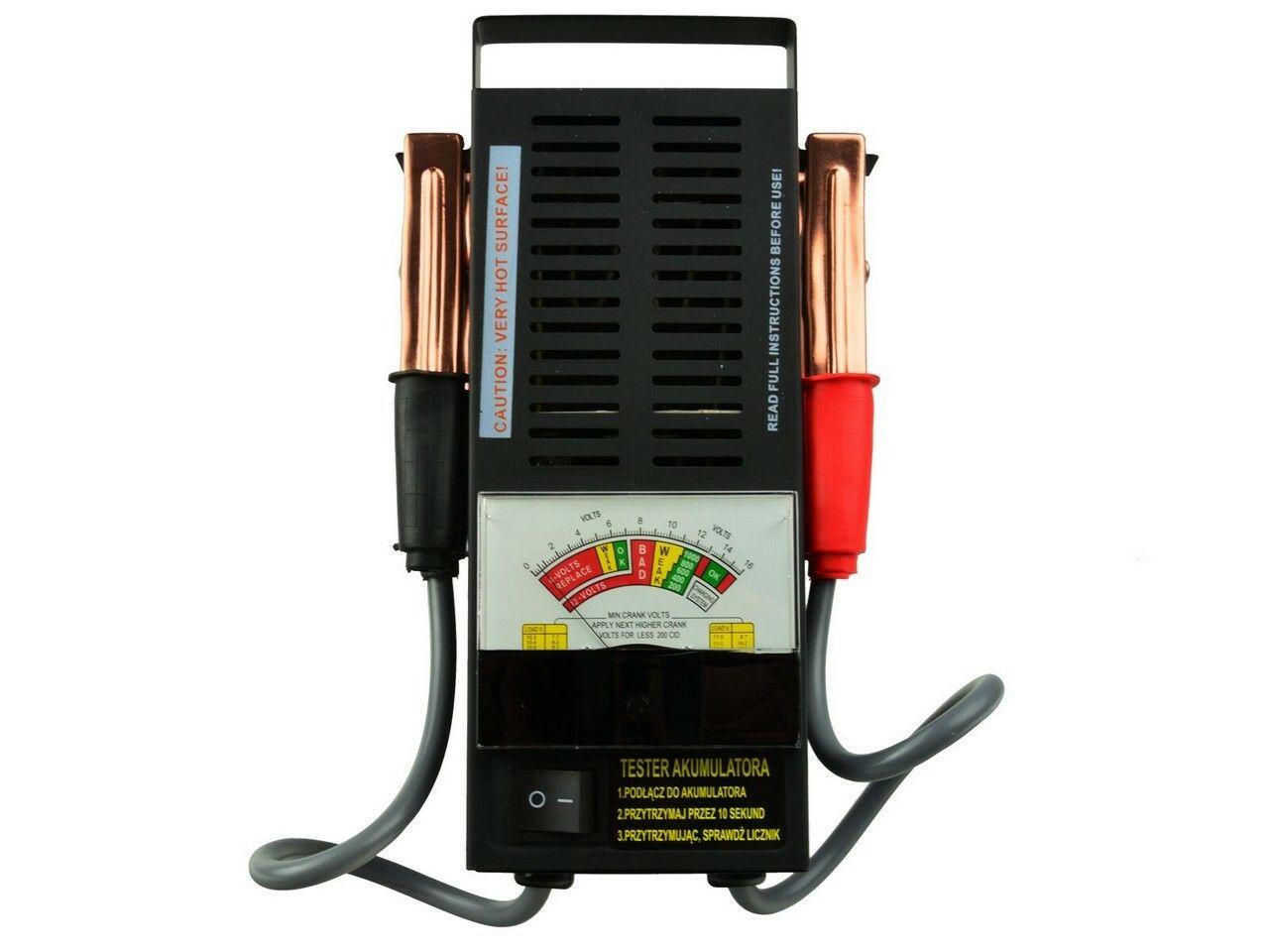 GEKO G80028 Tester autobaterie zátěžový analogový