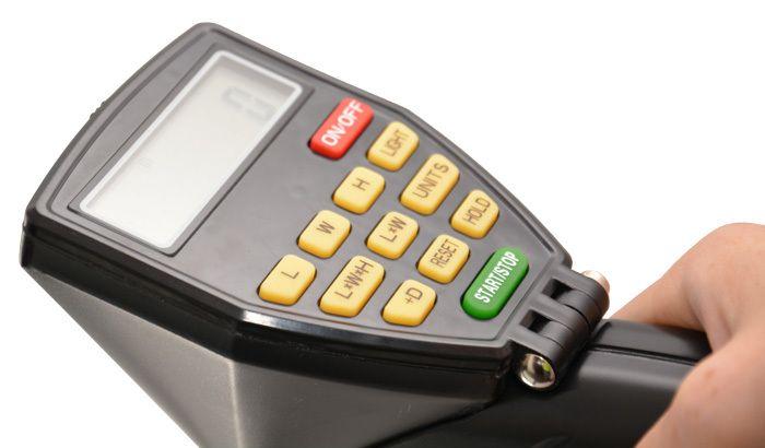 Měřicí kolečko digitální zdvojené Genborx DMW