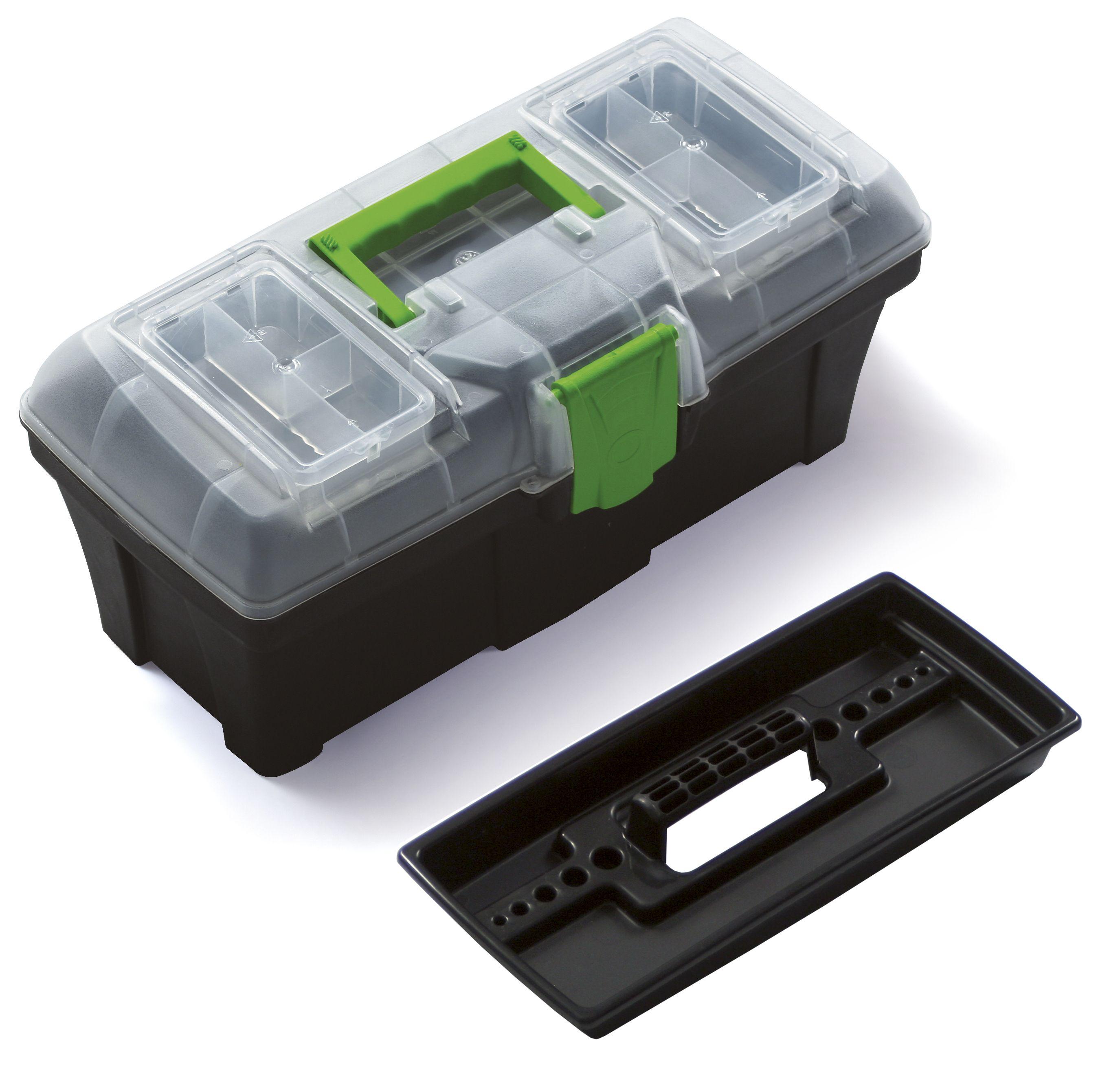 """Plastový box na nářadí 12"""", nosnost 6 kg, GREEN BOX SIXTOL"""