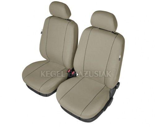 Autopotahy HERMES na přední sedadla, béžová SIXTOL