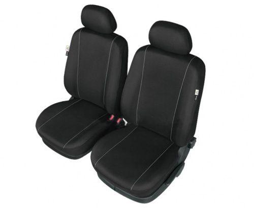 Autopotahy HERMES na přední sedadla, černé