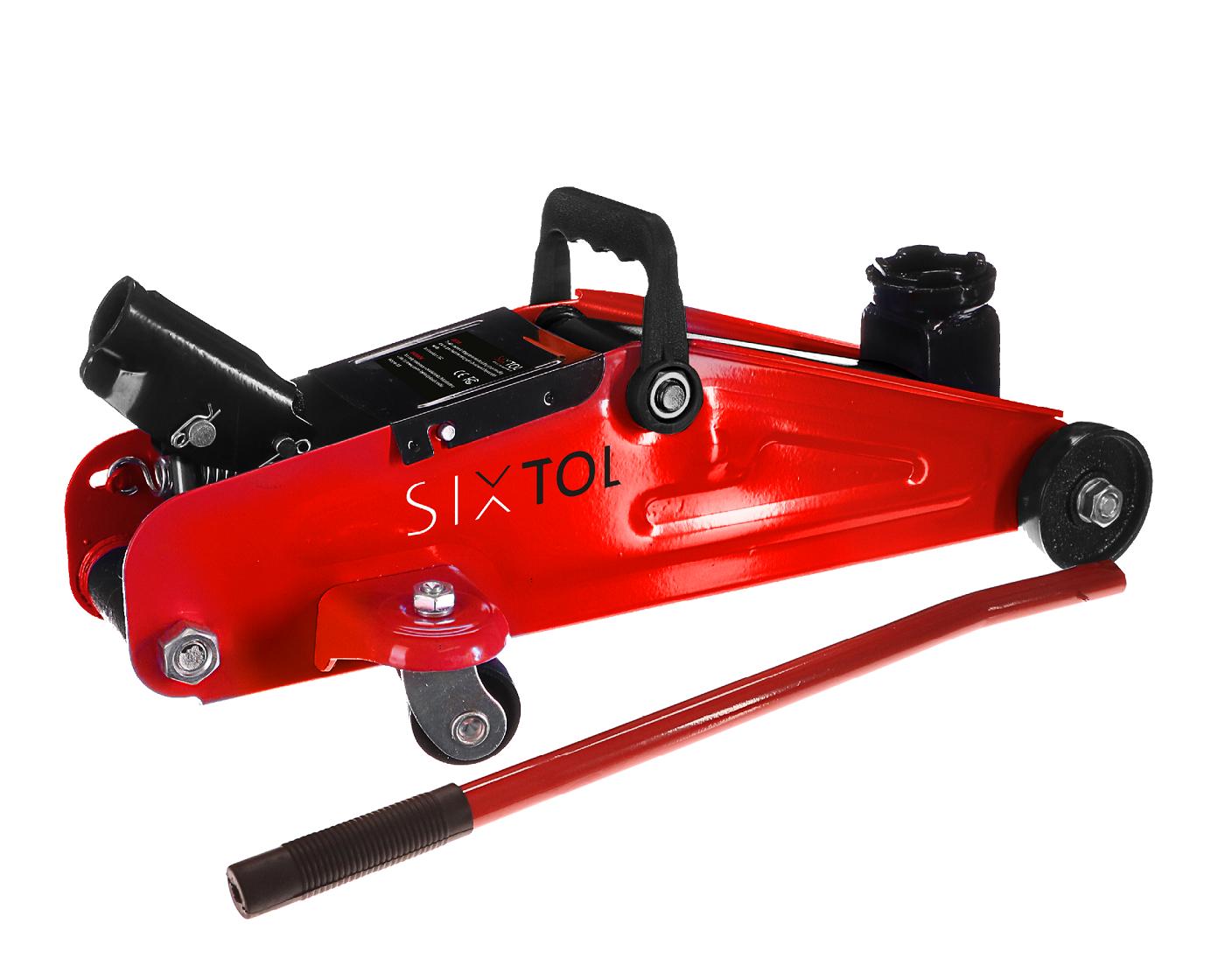Pojízdný hydraulický zvedák 2t nízkoprofilový SX Jack MINI 2T SIXTOL