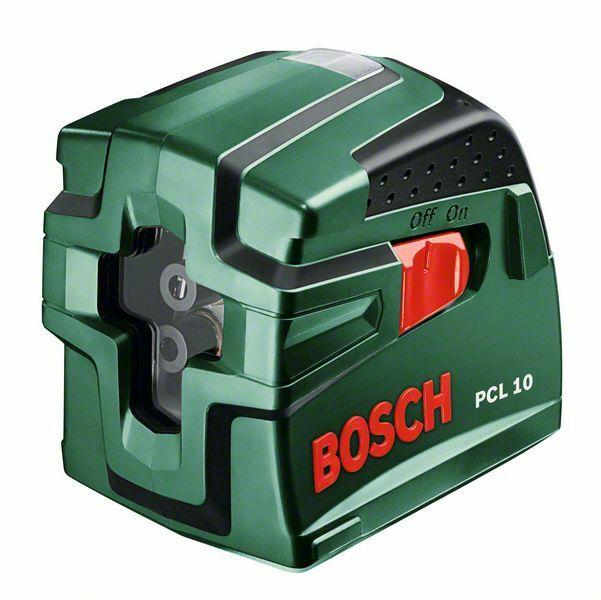 Bosch PCL 10 křížový laser + ochranné pouzdro, 0603008120