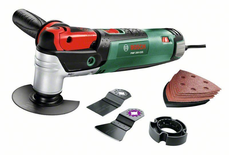 Bosch PMF 250 CES Multifunkční nářadí - kufr, 0603100620