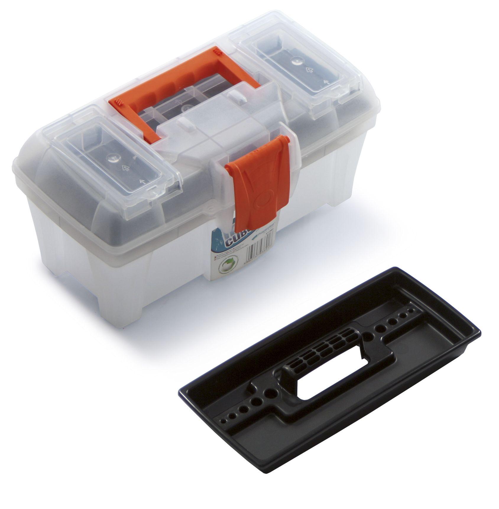 """Plastový box na nářadí 12"""", nosnost 6 kg, ICE CUBE SIXTOL"""