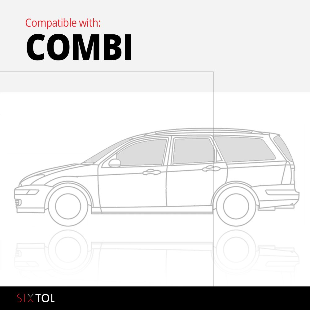 Vana do kufru plastová Škoda Octavia II Combi (1Z) (04-13) SIXTOL