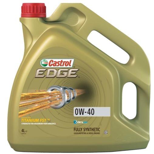 Motorový olej Castrol EDGE 0W40 FST 4L