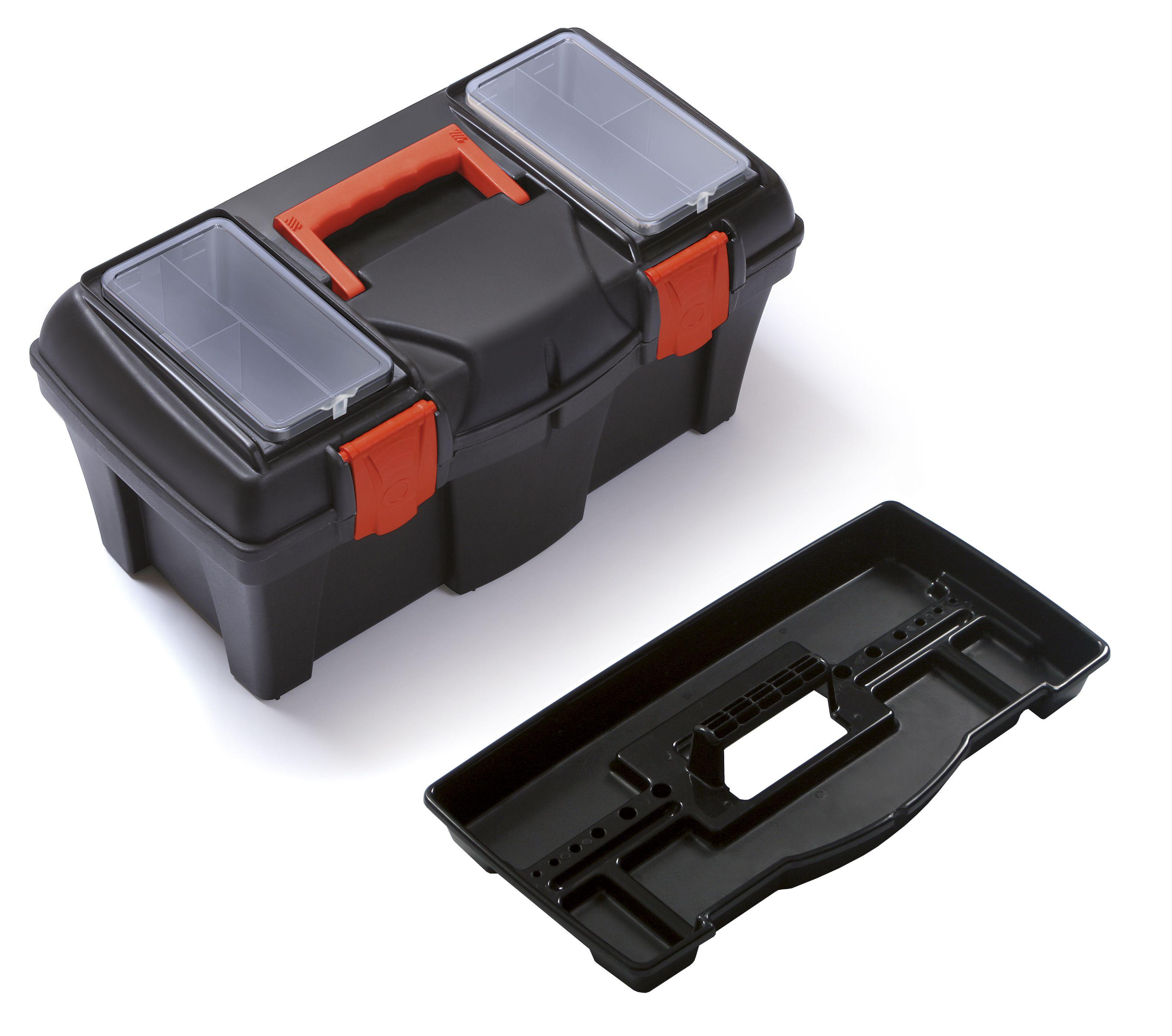 """Plastový box na nářadí 18"""", nosnost 11,5 kg, MUSTANG SIXTOL"""