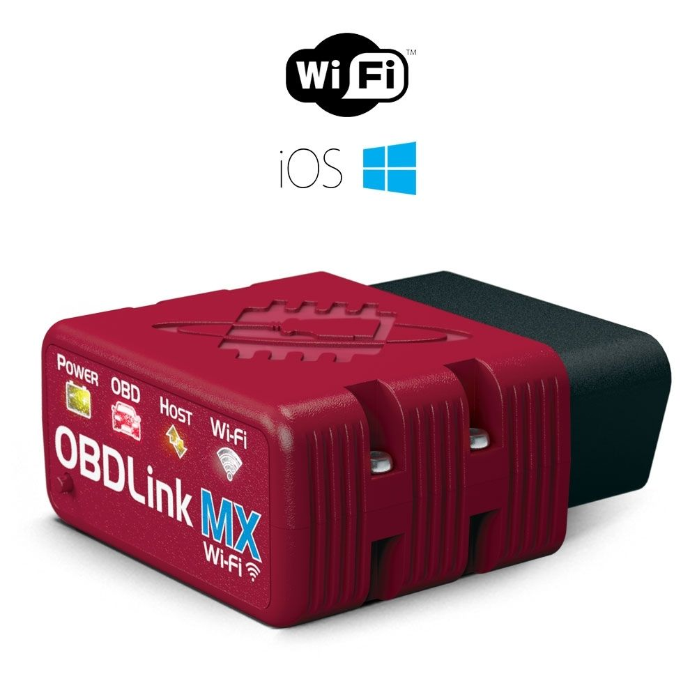 Diagnostika OBDLink MX Wi-Fi + CZ program TouchScan SCANTOOL