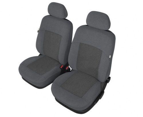 Autopotahy POSEIDON na přední sedadla, šedé