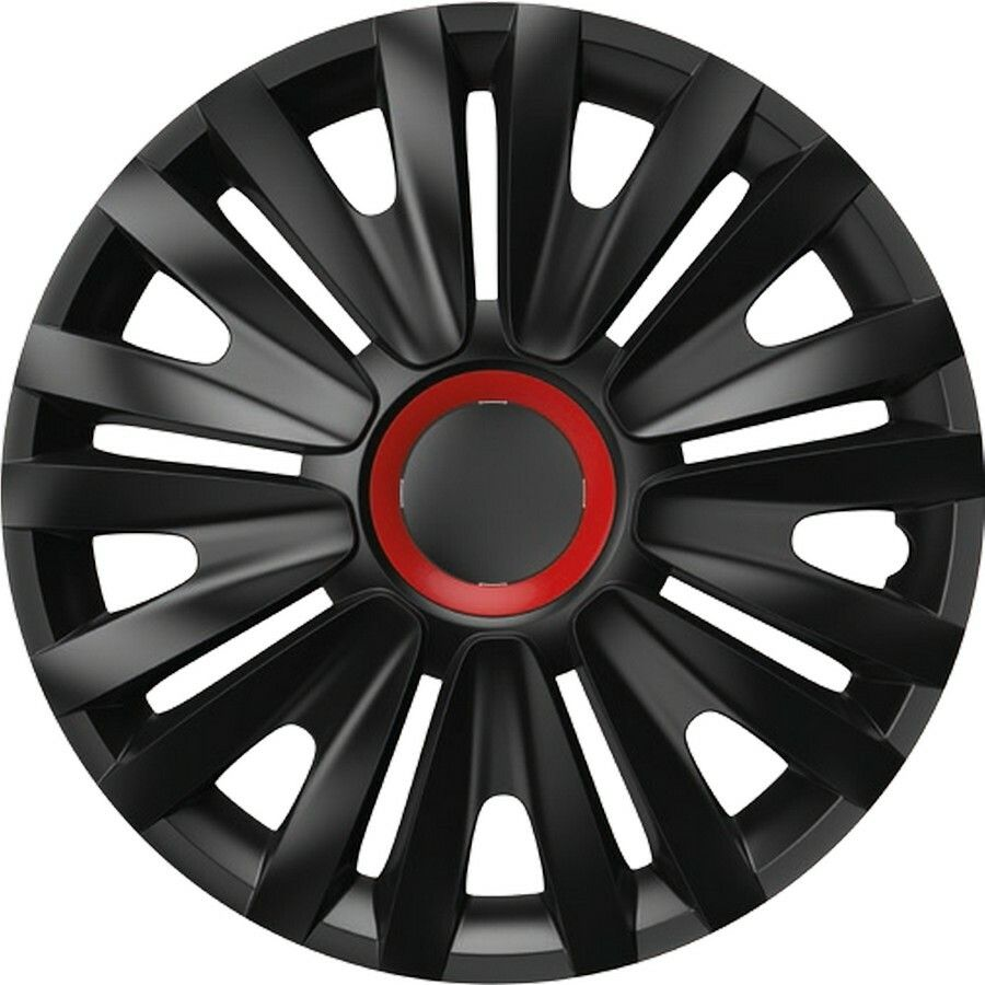 "Poklice ROYAL Red Ring Black 1ks 14"" SIXTOL"