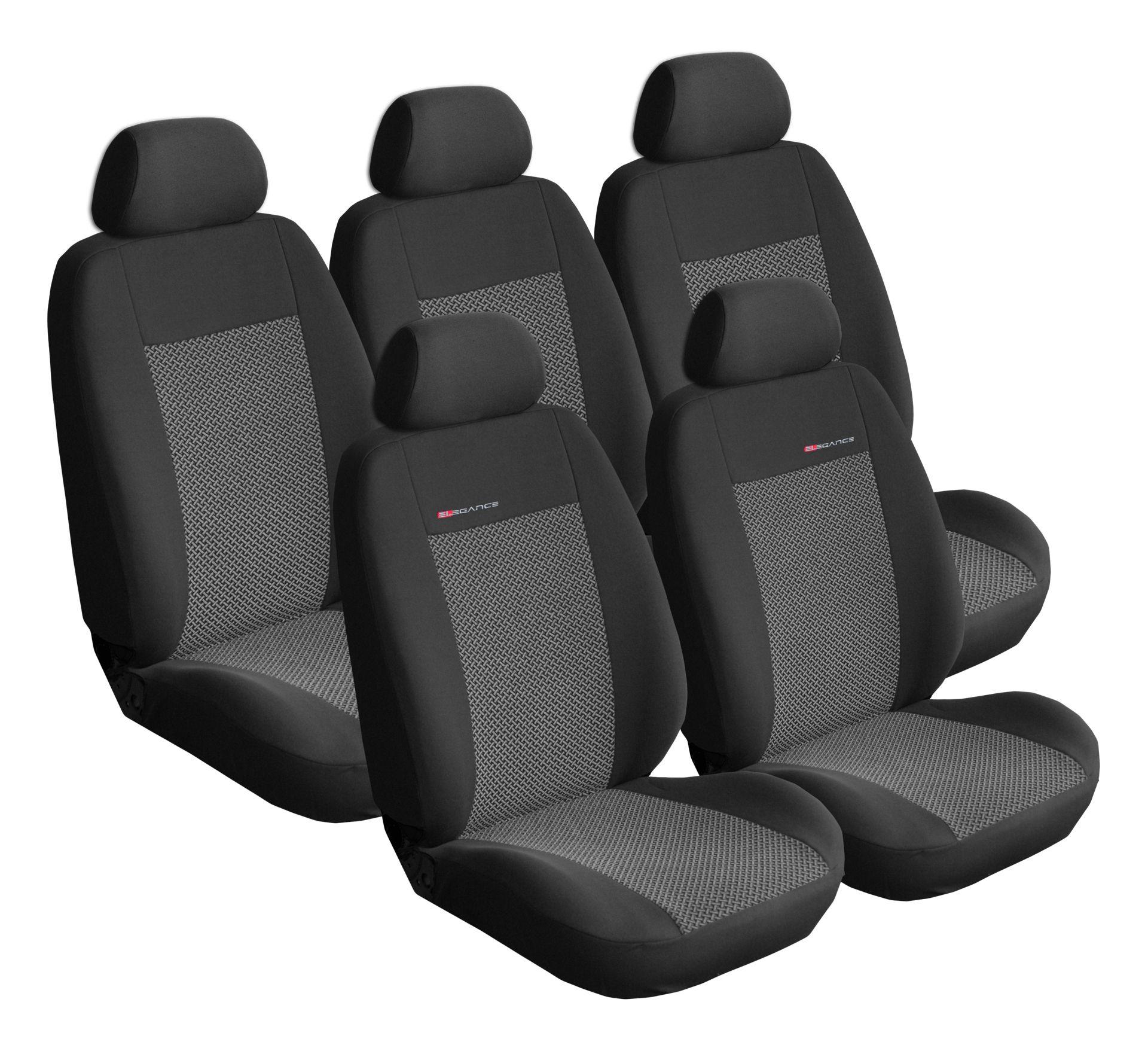 Autopotahy Citroen C4 Picasso II, od r.2010, 5 míst, šedo černé SIXTOL