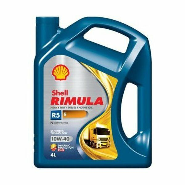 Motorový olej Shell Rimula R5 E 10w-40    4L