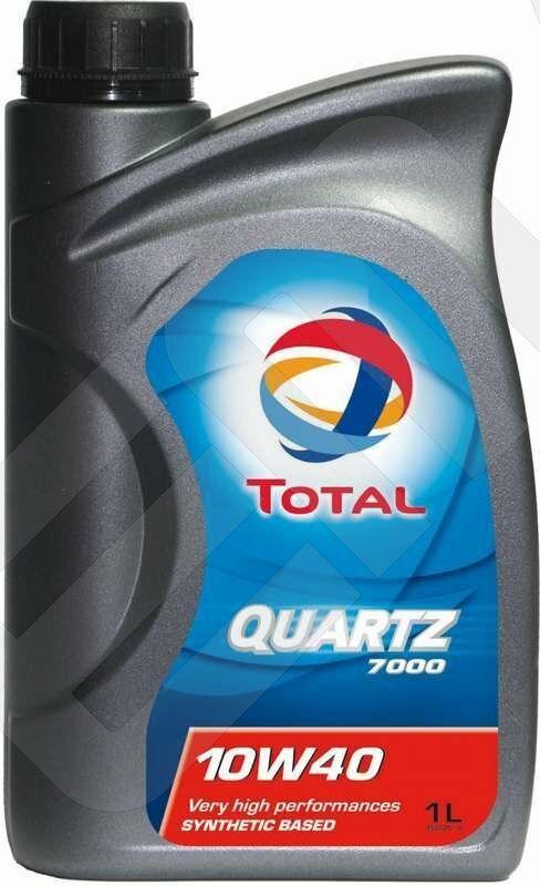 Motorový olej Total QUARTZ 7000 10W-40 1L