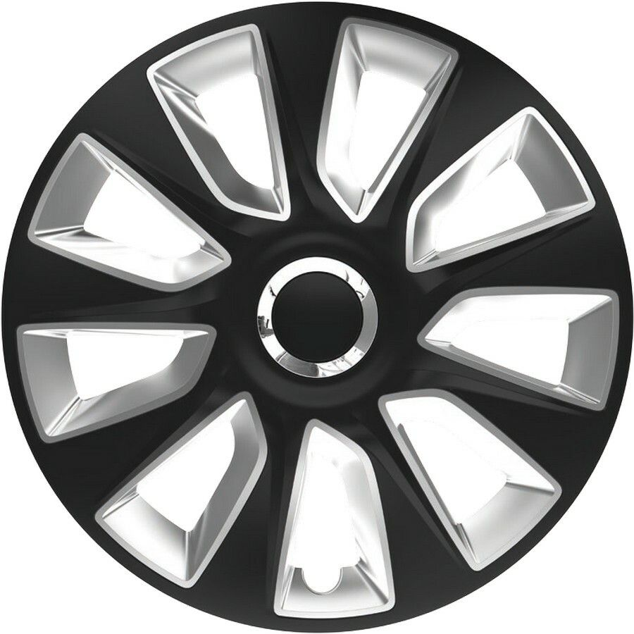"Poklice STRATOS RC Black/Silver 1ks 15"" SIXTOL"
