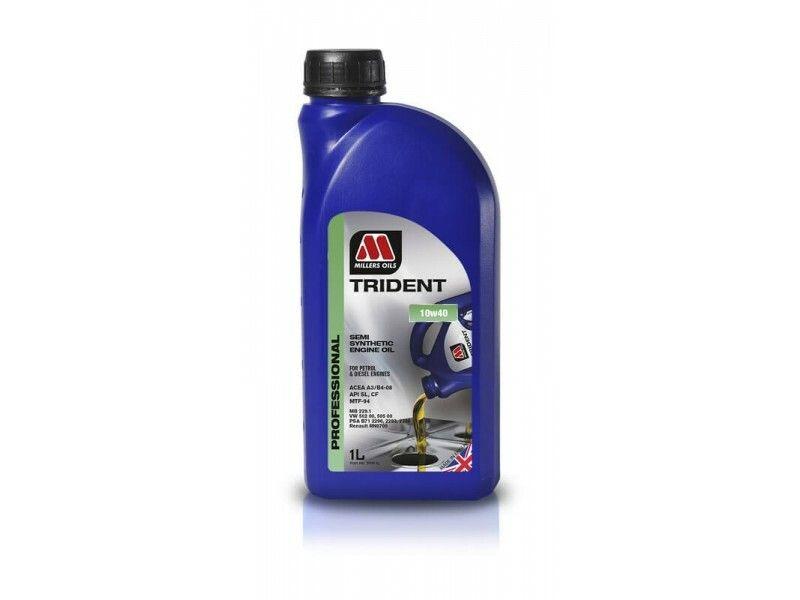 Millers Trident 10w40 1l MILLER OILS