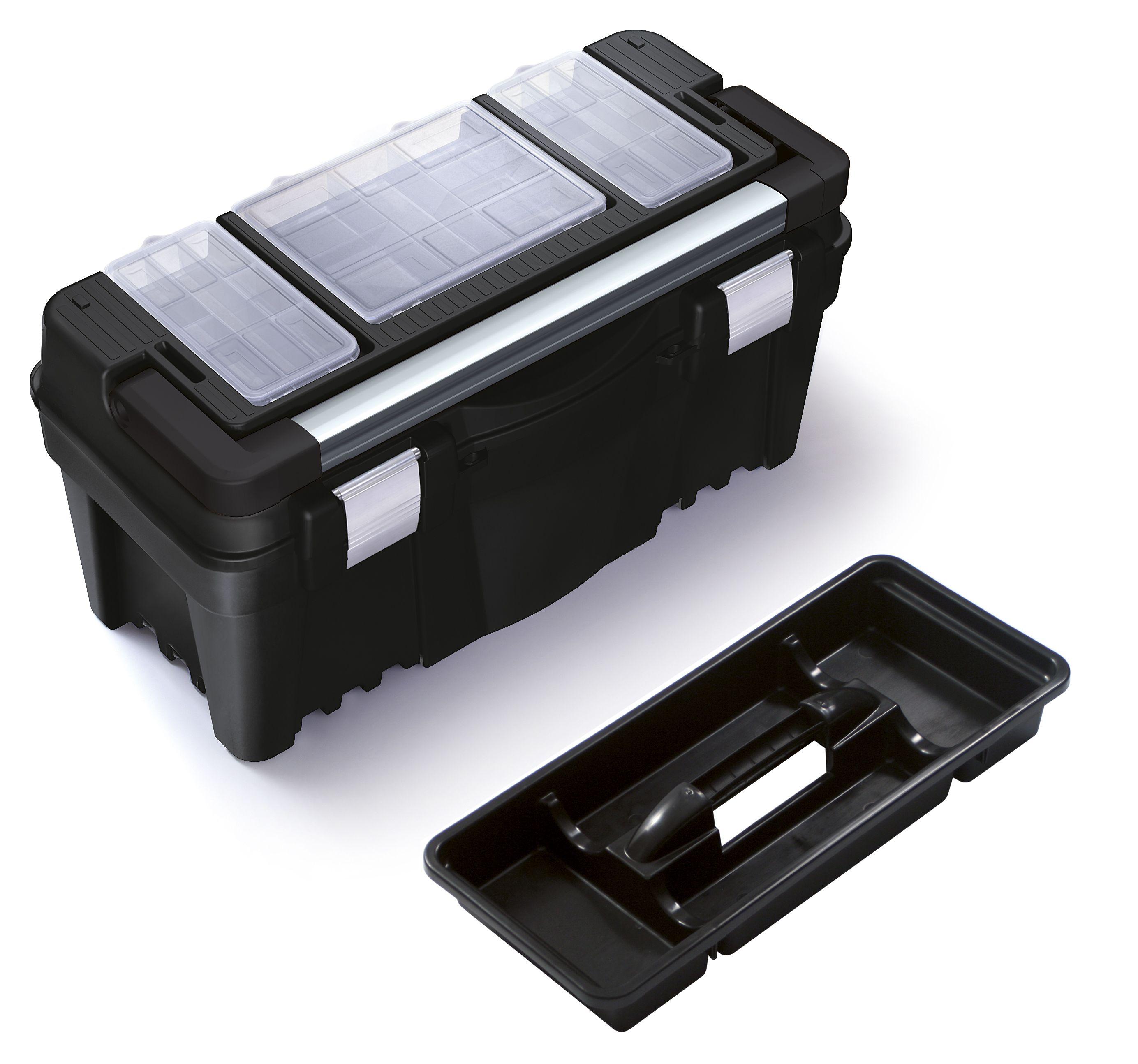 """Plastový box na nářadí 22"""", nosnost 22 kg, VIPER SIXTOL"""