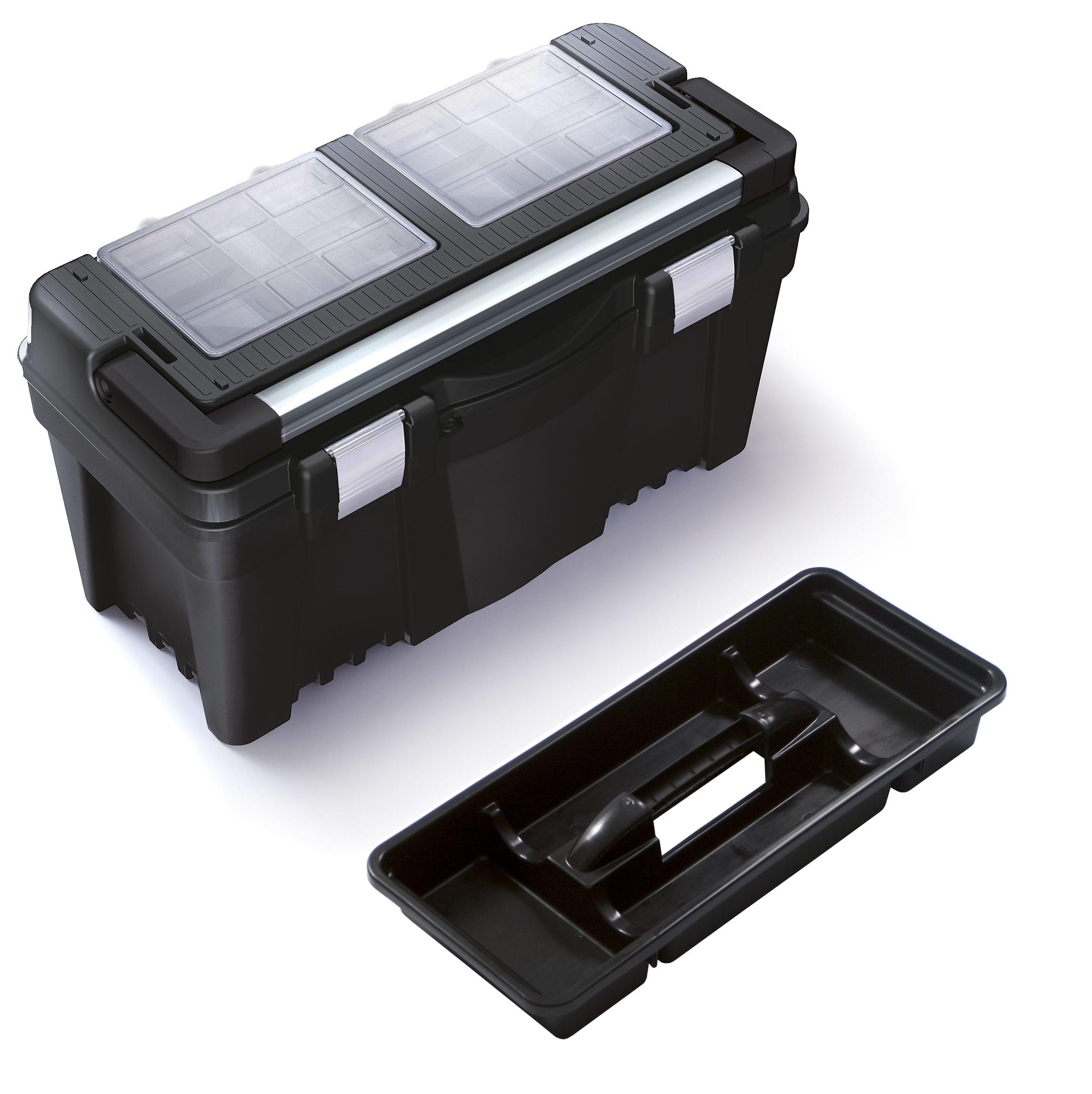 """Plastový box na nářadí 23,5"""", nosnost 27 kg, VIPER SIXTOL"""